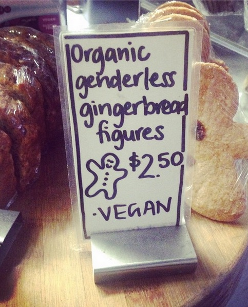 "Shall we call them ""transginger"" cookies?"