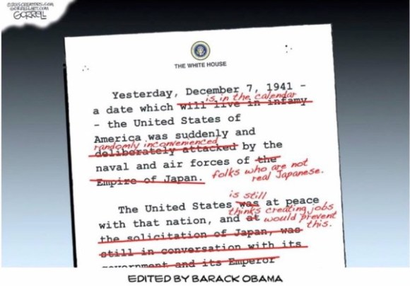 Obama Pearl Harbor copy