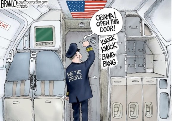 Obama Open the door copy