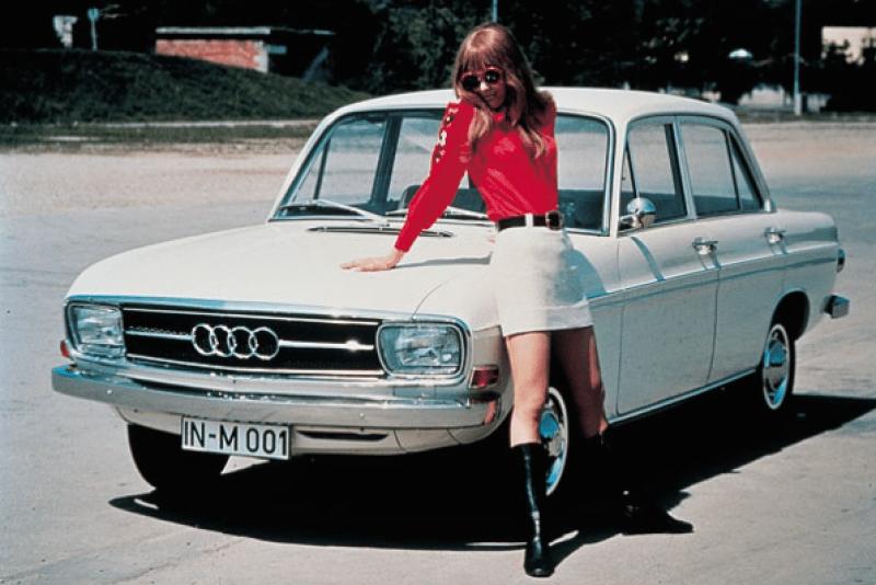 Audi F103 S, 1971 год.