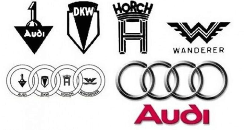 Эмблема Audi.