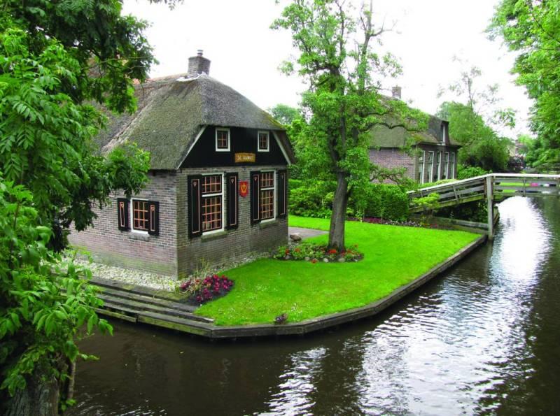 Деревня Гитхорн Нидерланды