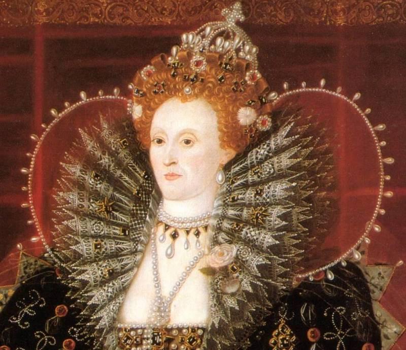 Елизавета 1 Англия парики