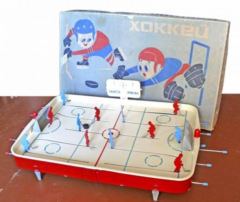 Советская игра настольный хоккей