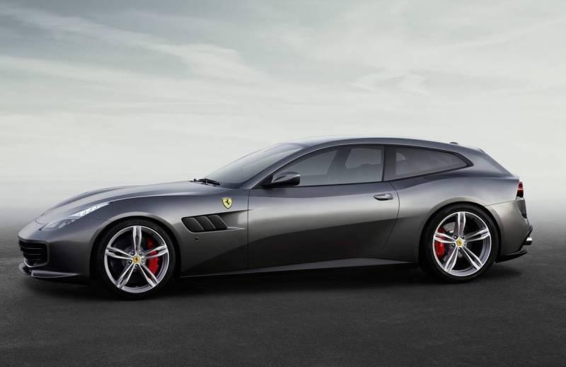 Автосалон Женева 2016 1.Ferrari GTC4Lusso