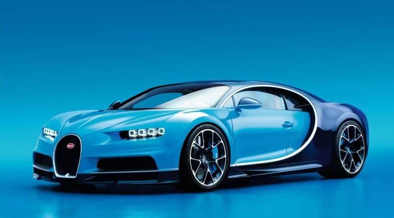 Самые дорогие машины 2016 Chiron Bugatti