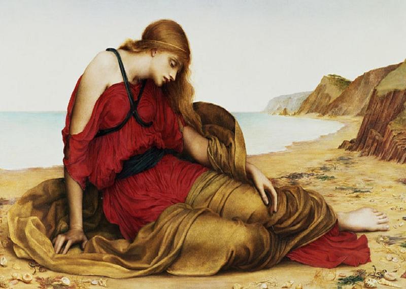 """Эвелин де Морган """"Ариадна наНаксосе"""", 1877. Фотоисточник"""