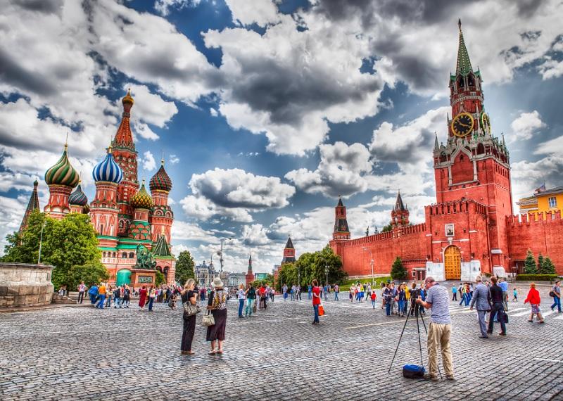 Красная площадь. Москва. Фотоисточник