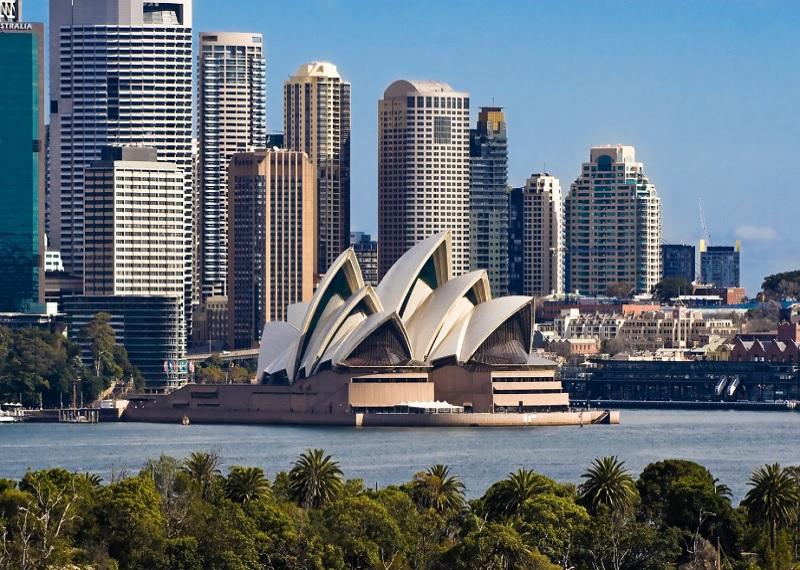 Достопримечательности Австралии, Австралия опера, Сидней оперный театр, архитектура Австралии