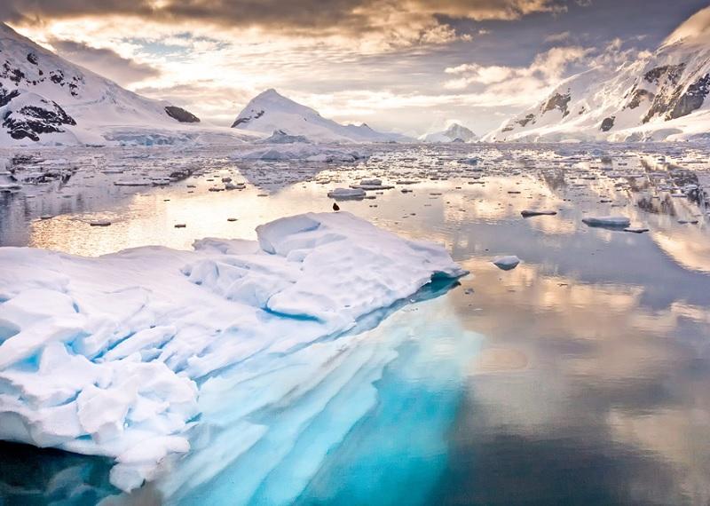 Антарктида, Антарктика, самый холодный континент, снег, холод