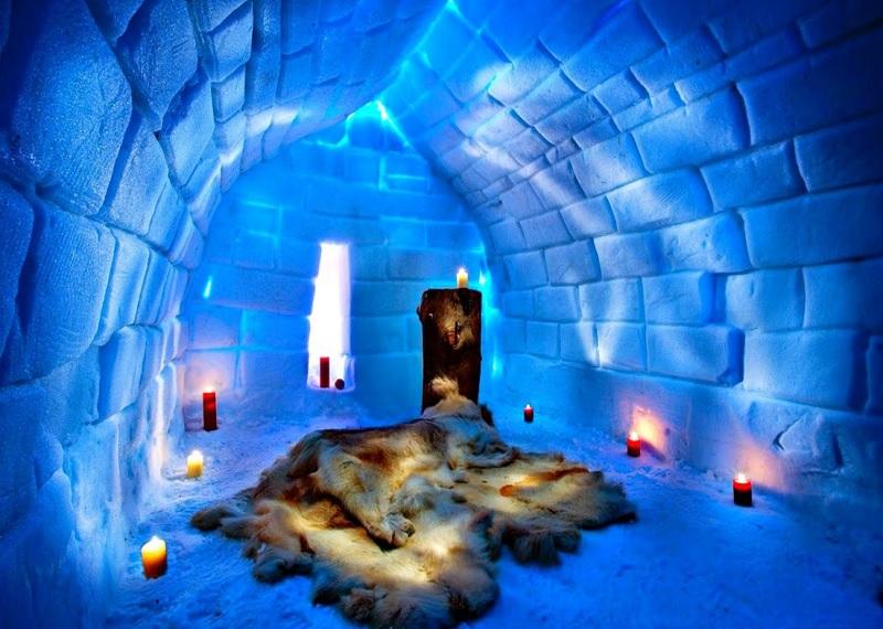 Icehotel sweden, Ледяной отель в Швеции, необычные отели, ледяная гостиница