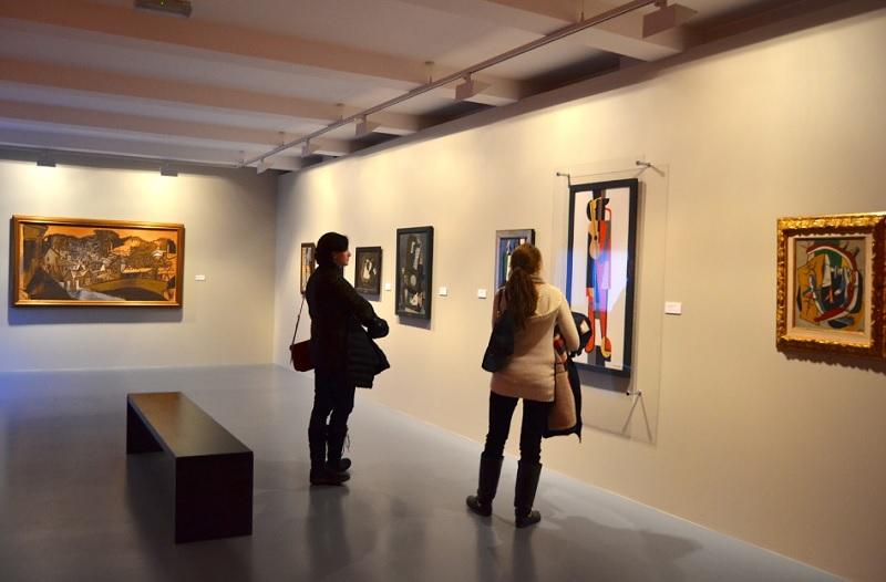 Поход в музей, музей, арт галерея