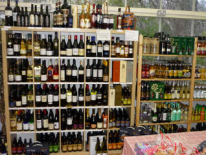 A selection of fine wines, beers and spirits