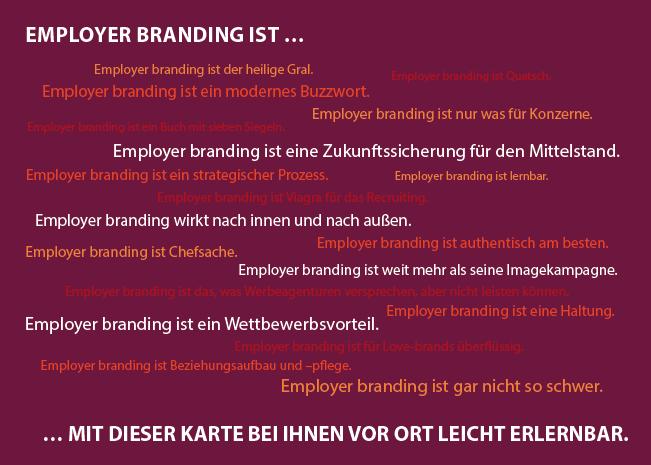 Employer Branding – wo die Arbeitgeberkommunikation im Mittelstand schwächelt