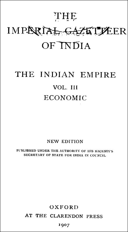 The Imperial Gazetteer Of India 3
