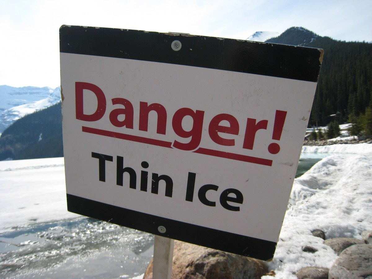 Recommended Ice Thickness for Snowmobiling