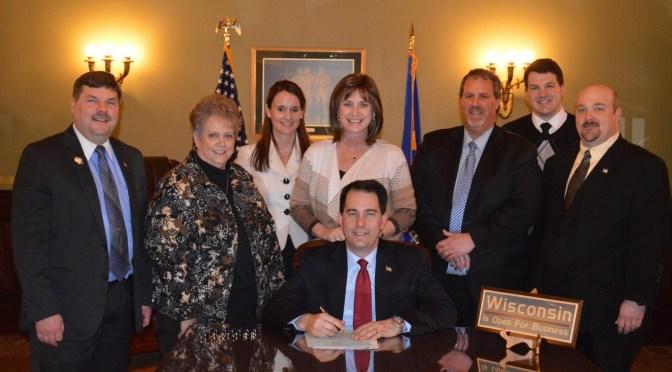 image courtesy of Wisconsin State Senator Rick Gudex