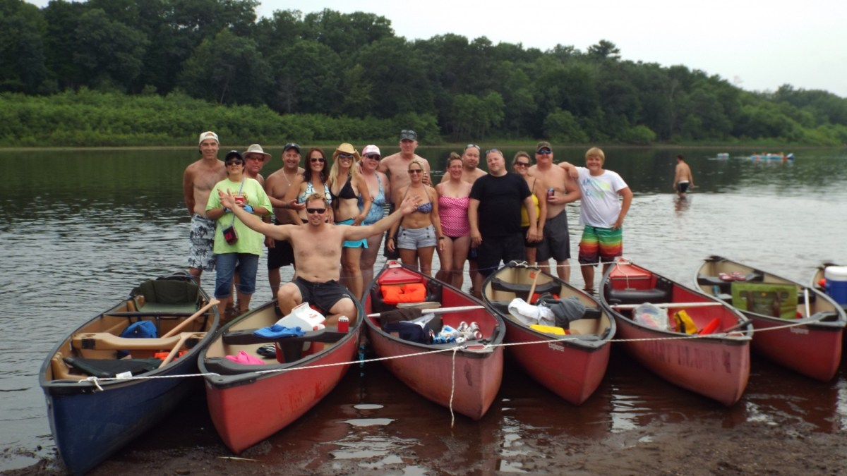 Party Riders Conquer the Bluff During Club Camping Trip
