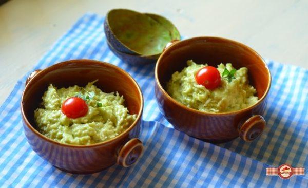 Salata de telina cu maioneza de avocado