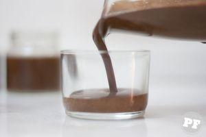 Potinho de Chocolate com Laranja