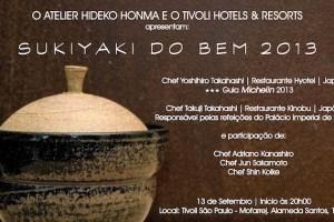 Quentinhas: Sukiyaki do Bem 2013
