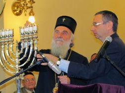 Резултат слика за patrijarh irinej sinagoga