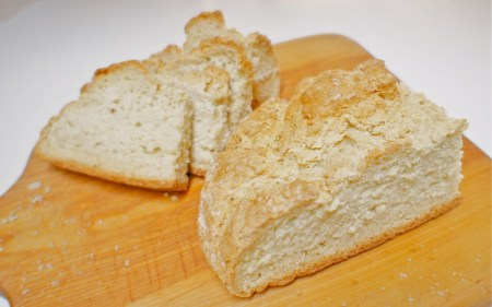 Irish Soda Bread slices
