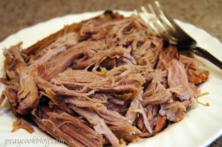 pork roast plate