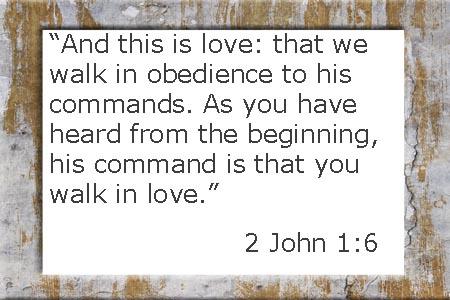 2 John 6