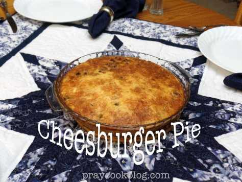 Cheeseburger Pie Tabled