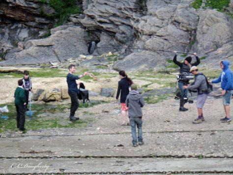 Louisa filming