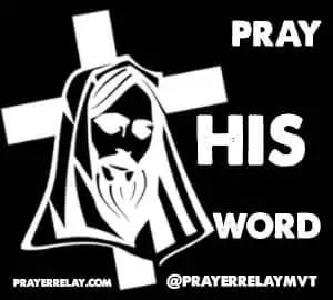pray his word