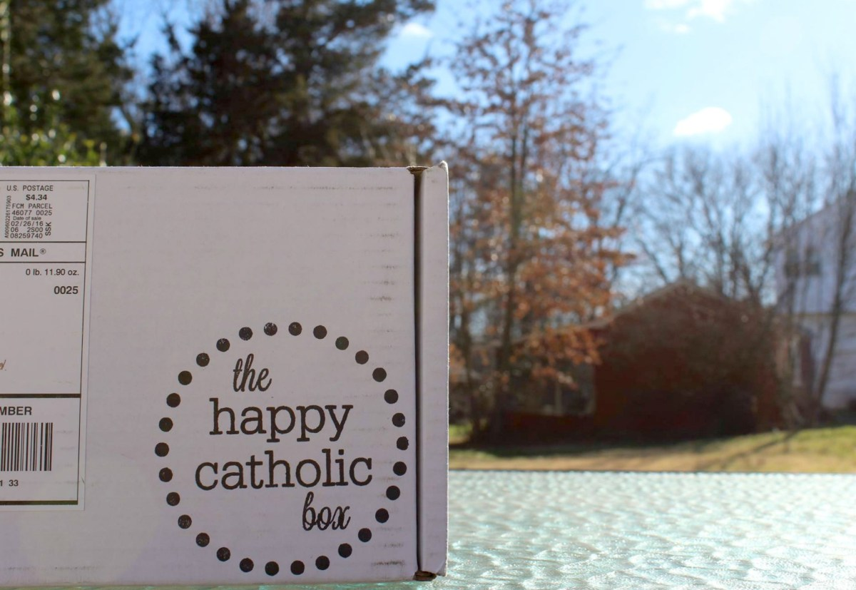 Trading in My Stitch Fix for The Happy Catholic Box