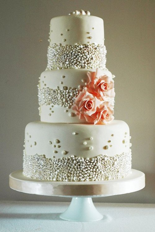 Medium Of Simple Wedding Cakes