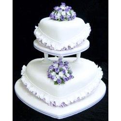 Small Crop Of Purple Wedding Cakes