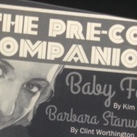 ISSUE #1 of THE PRE-CODE COMPANION now available!