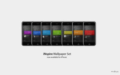 iNspire Wallpaper Set - iPhone by magneto-ms on DeviantArt