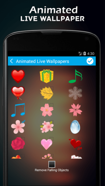 Animated Live Wallpapers App for Android - New Android Photo & Video App