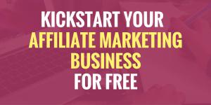 affiliate marketing with no money