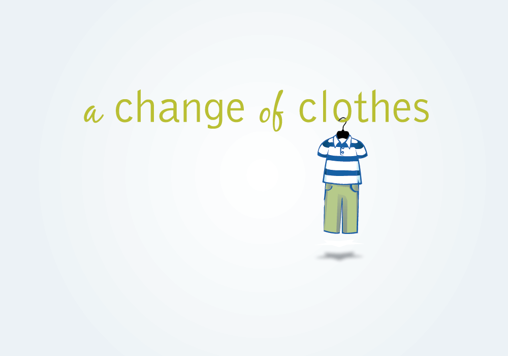 A Change of Clothes logo