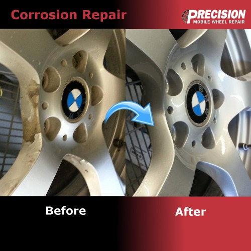 Corrosion Repair - Before and After