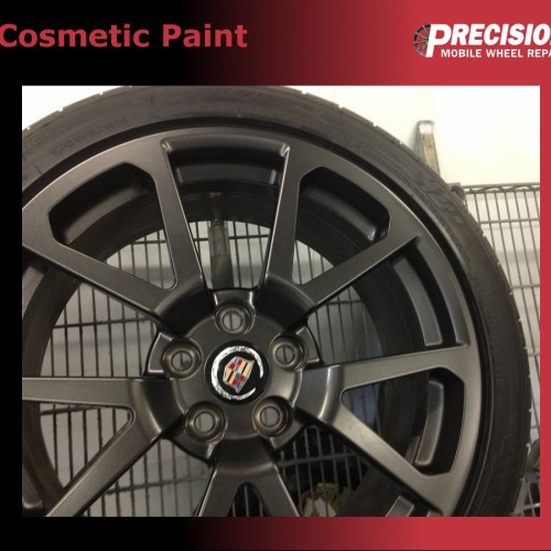 Cosmetic Paint Precision Wheel Repair