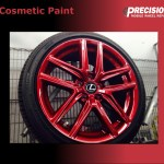 Cosmetic Paint Precision Wheel Repair