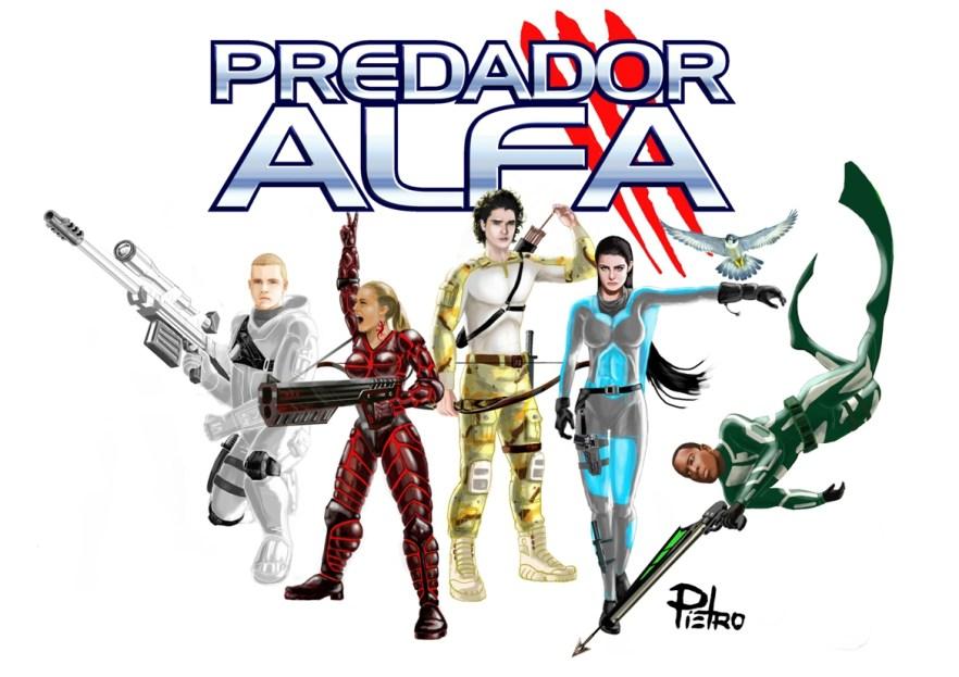 Caçadores do livro Predador Alfa