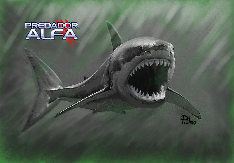 Predador Alfa - Megalodon
