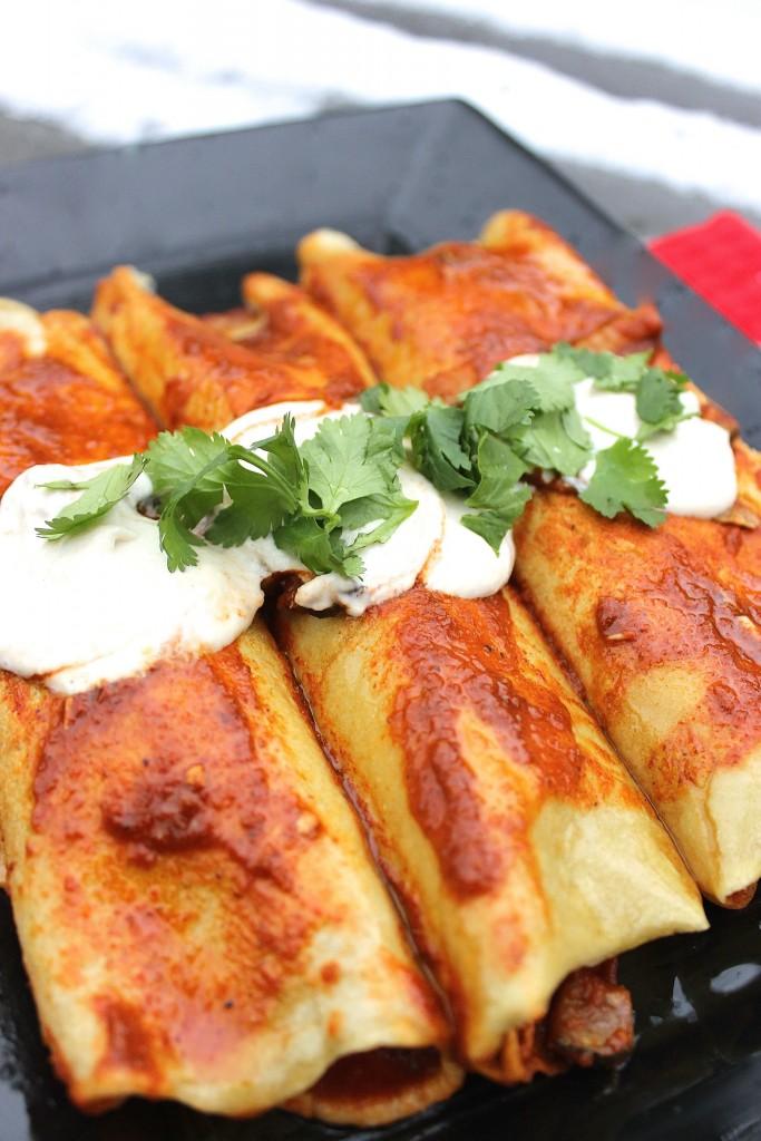 Paleo Chicken Enchiladas IV