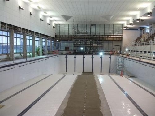 highgrove swimming pool refurbishment goes swimmingly premier construction news