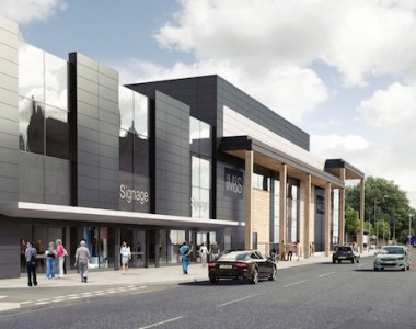 Major new retail scheme rises in Greenwich