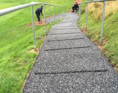 Trialflex Imrpoves Grip For Steep Golf Club Path