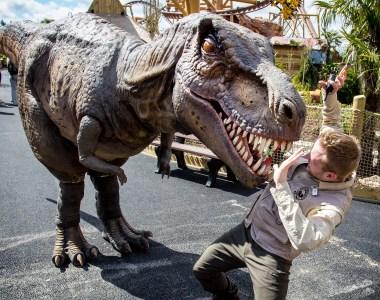 Dinosaur Theme Park World, Lost Kingdom, To Open At Paultons Park